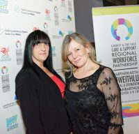 Evette Townley and Angela Smyth at Awards Ceremony