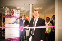 Chairman Jeff Tune opens Devon office