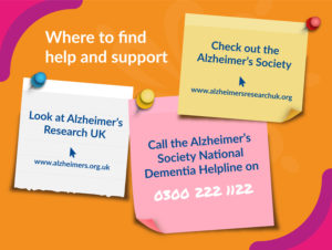 Support for dementia and Alzheimer's in home-care