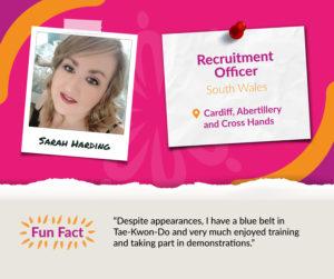Meet the Team Q&A with Sarah Harding