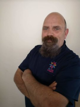 Andrew Watson from courier to carer